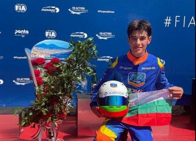 Никола Цолов е европейски вицешампион по картинг