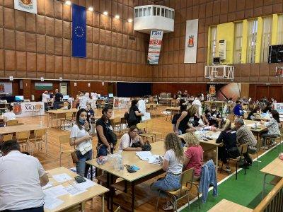 Започна предаването и отчитането на изборните протоколи в Хасково
