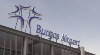 Самолет кацна аварийно на летище Бургас