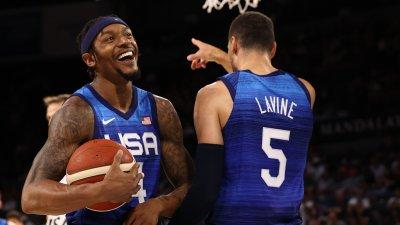 САЩ с първа победа в проверките си преди Олимпиадата