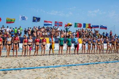 Дания и Германия са на върха на Европа в плажния хандбал