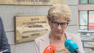 Министър Комитова: Уволних председателя на АПИ, защото е спрял строителните действия без знанието на МРРБ