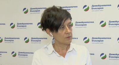 """Антоанета Цонева: """"Демократична България"""" сме отворени за разговор с """"Има такъв народ"""""""