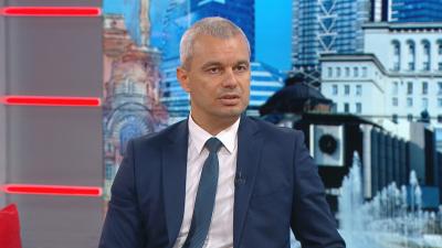 """Костадин Костадинов: """"Възраждане"""" се утвърди като най-голямата патриотична партия"""