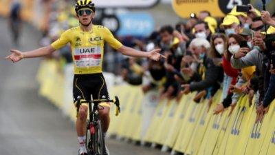 Тадей Погачар е все по-близко до втори пореден триумф на Тур дьо Франс