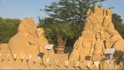 Откриват фестивала на пясъчните фигури в Бургас