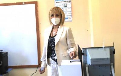 Мая Манолова: Гласувайте, гласувайте, гласувайте