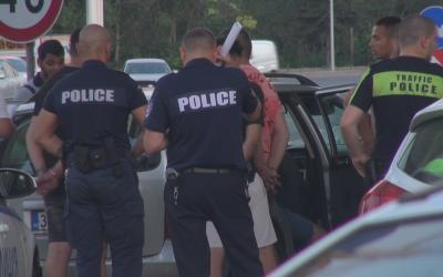 Петима са задържани при спецакция в Бургас