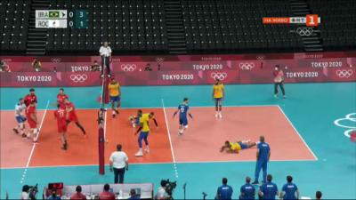 """Ден 6: Волейбол (Група """"B"""") Бразилия срещу Руския олимпийски комитет"""