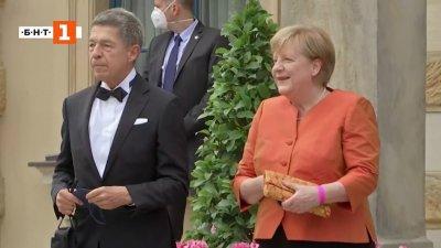 Ангела Меркел на опера