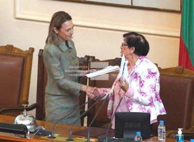 Избраха Ива Митева за председател на 46-ото Народно събрание