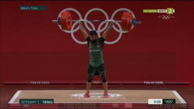 Ден 6: Вдигане на тежести (категория до 73 кг.) с участието на Божидар Андреев