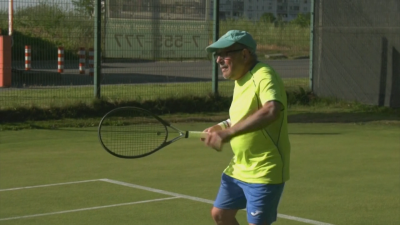 Кой е най-възрастният играч на тенис в света?