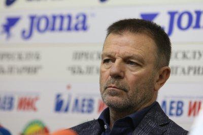 Стойчо Младенов с първи думи начело на ЦСКА
