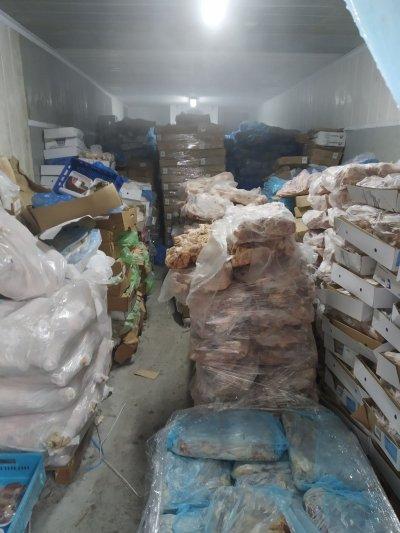 Откриха огромно количество негодно за консумация месо в склад край Пазарджик