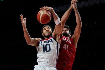 САЩ разгроми Иран в баскетболния турнир
