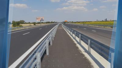 """Пускат за движение участъка от магистрала """"Тракия"""" към София"""