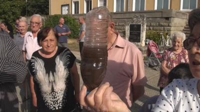 Протести заради режим на водата в село Кръстевич