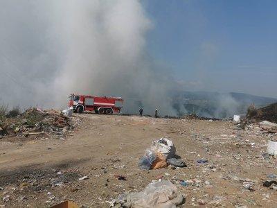 Сериозно задимяване от сметище притеснява жителите на село Джерман