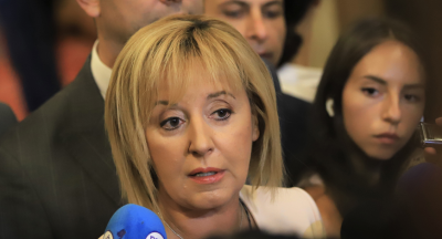 Мая Манолова: Няма да подкрепим правителство, в което има опити за инсталиране на ГЕРБ и ДПС