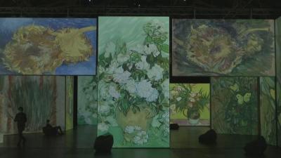 """Картините на Ван Гог """"оживяха"""" в Мюнхен"""