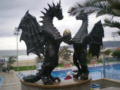 Община Варна с призив да не се пие вода от чешмата с драконите