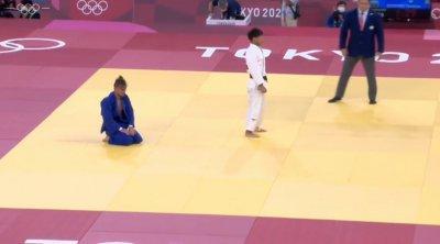 Джудистът Янислав Герчев отпадна на 1/8-финалите в Токио