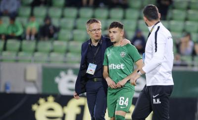 Доминик Янков: Готови сме за мача