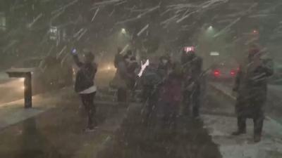 Необичайно: сняг заваля в Бразилия