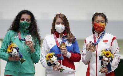 Антоанета през сълзи: Медалът не може да се сравни с нищо