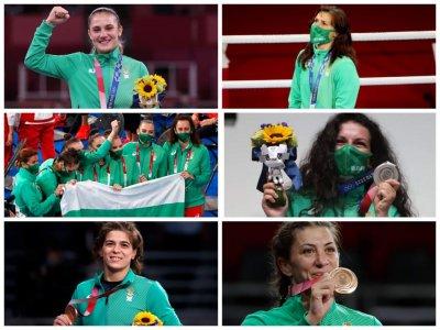Българските героини от Игрите в Токио (Снимки)