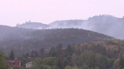 Пожарът над Велинград е локализиран