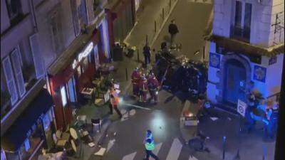 Кола се вряза в заведение в Париж - един е загинал, има ранени