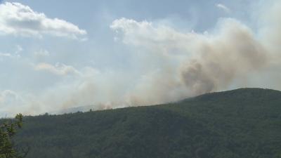 Много тлеещи огнища могат да пламнат отново в Република Северна Македония