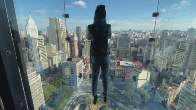 Поглед от 170 метра: Стъклена платформа е новата атракция в Сао Пауло