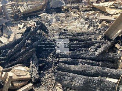 Прокуратурата разследва причините за пожара в Старосел