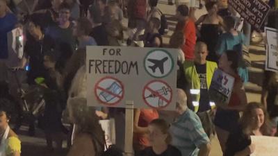 Протест в Израел срещу затягането на COVID мерките