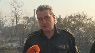 Гл. комисар Николов: Ситуацията с пожарите у нас е сравнително спокойна, дирекцията ни обаче е на бойна нога