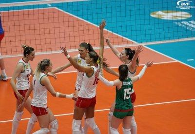 Волейболистките на България с втора победа над Румъния