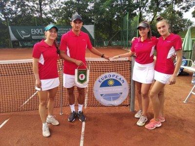 Националките ни до 18 г. победиха Швеция на Европейската отборна купа по тенис