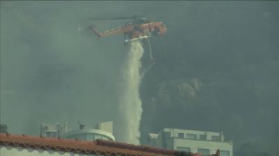 Тежка нощ в Гърция заради пожарите, в Турция ситуацията е под контрол