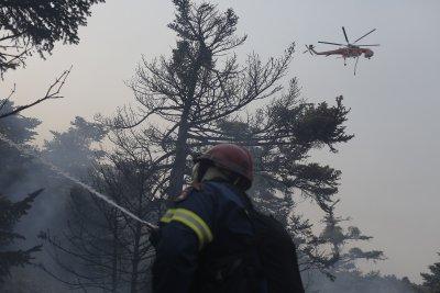 Вучич праща сръбски хеликоптери да гасят пожарите в Гърция