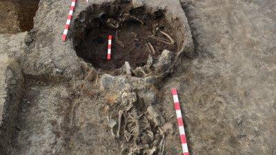 Двойно убийство и необичайни погребални практики при разкопки на пътя Е-79 край Видин