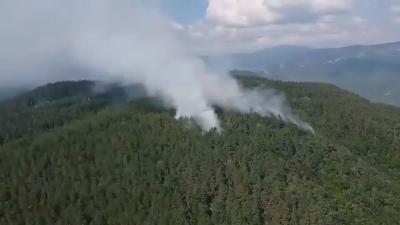 Атакуват огъня над Югово от нови позиции