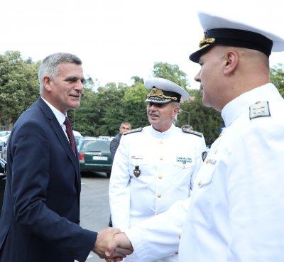 Адмирал Ефтимов: През тази трудна година ВМС се справиха успешно