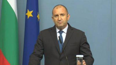 Радев след заседанието на КСНС: Консенсус по актуализацията на бюджета не е постигнат