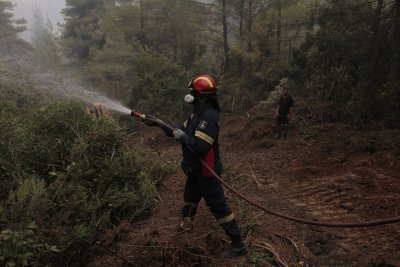 Словакия изпраща пожарникари и техника в помощ на Гърция