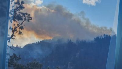 Пожарникари и доброволци гасят пожара в Рила и днес