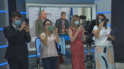 Молдовски журналисти бяха на посещение в БНТ
