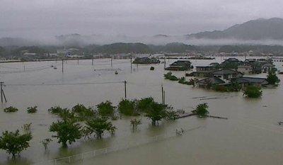 Евакуираха почти 2 милиона души в Япония заради обилните валежи
